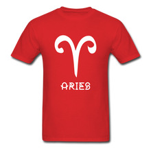 Load image into Gallery viewer, Aries Men's T-Shirt - red