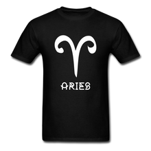Load image into Gallery viewer, Aries Men's T-Shirt - black
