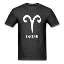Load image into Gallery viewer, Aries Men's T-Shirt - heather black