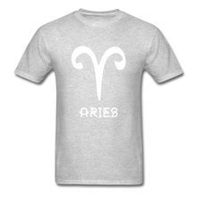 Load image into Gallery viewer, Aries Men's T-Shirt - heather gray