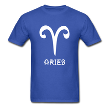 Load image into Gallery viewer, Aries Men's T-Shirt - royal blue