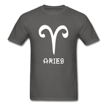 Load image into Gallery viewer, Aries Men's T-Shirt - charcoal