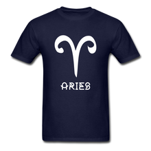 Load image into Gallery viewer, Aries Men's T-Shirt - navy