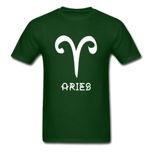 Load image into Gallery viewer, Aries Men's T-Shirt - forest green
