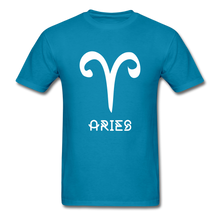 Load image into Gallery viewer, Aries Men's T-Shirt - turquoise