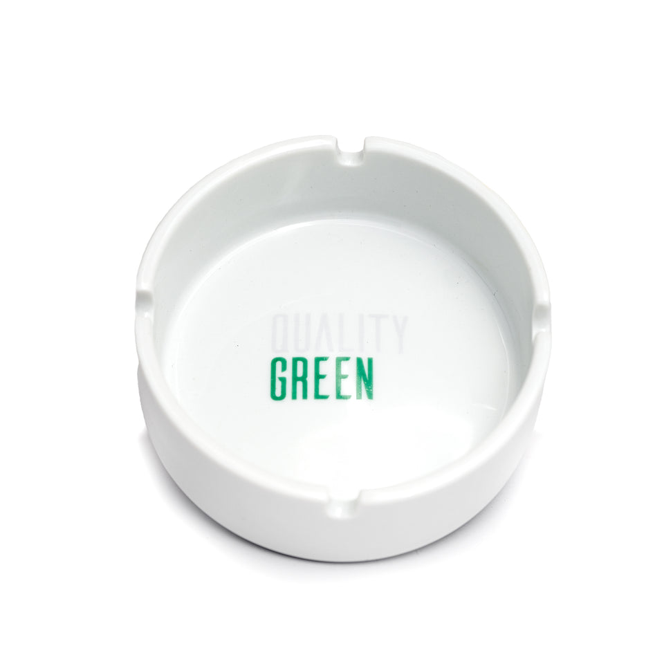Quality Green Ashtray