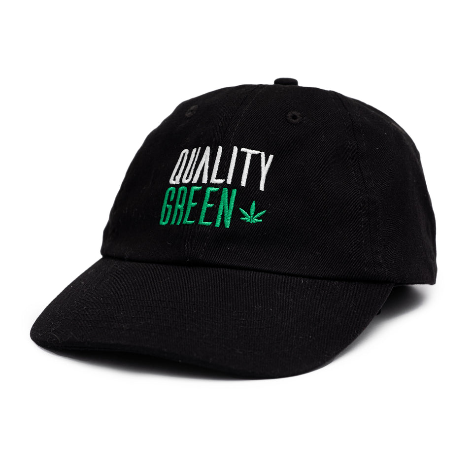 "Quality Green ""We Know Cannabis"" Dad Hat"