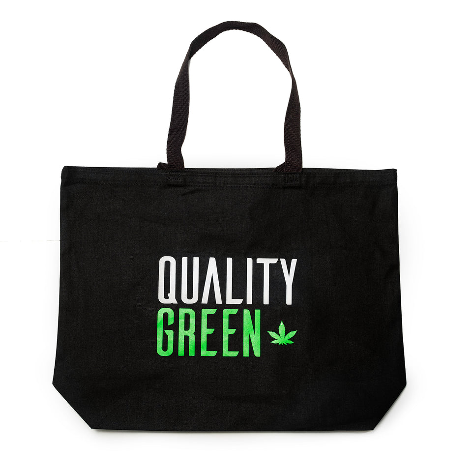 Quality Green Canvas Tote Bag