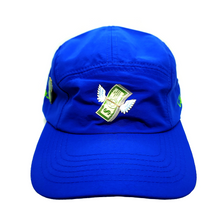 Load image into Gallery viewer, Fleeting Wealth 5 Panel Hat - Fits By Wave