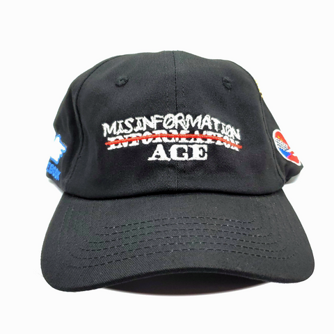 Misinformation Age Dad Hat - Fits By Wave