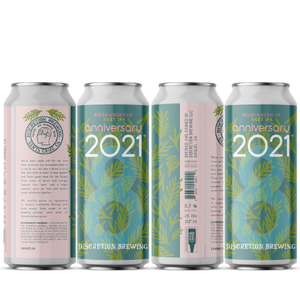 Anniversary 2021 -- Discretion Brewing - Santa Cruz, CA