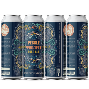 Pebble Project Pale -- Discretion Brewing - Santa Cruz CA