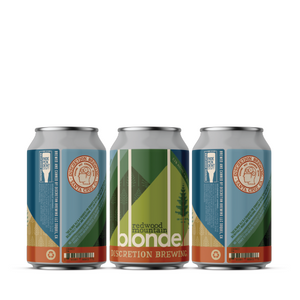 Redwood Mountain Blonde 12oz (12 or 24 packs)