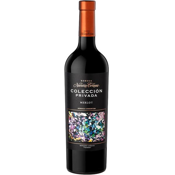 COLECCION PRIVADA MERLOT <br> Navarro Correas