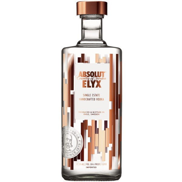 VODKA ABOSLUT ELYX 750 ml <br> Absolut