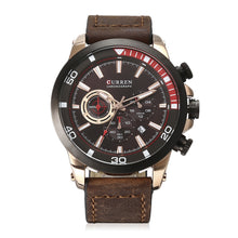 Load image into Gallery viewer, Men's Watch  Six Hand Watch Calendar Men's Watch Waterproof Quartz Belt Watch