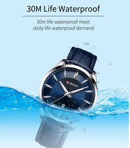 Men's Watch Waterproof Quartz Business Men's Watch