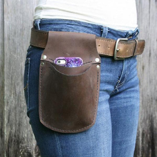 Women Small Phone Pouch Waist Bag
