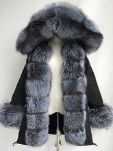 Load image into Gallery viewer, Winter Warm Fluffy Coat Faux Fur Parka