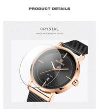 Load image into Gallery viewer, Couple Watch Waterproof Quartz Mesh Band