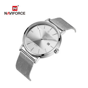 Couple watches Waterproof quartz watches with mesh straps Casual Men's Watches Women's Watches