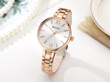 Load image into Gallery viewer, Women's Watch Steel Band Women's Watch Waterproof Quartz