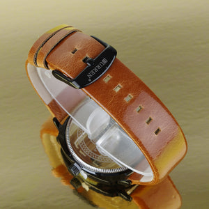 Men's Watch Calendar Men's Watch Waterproof Quartz Belt Watch Business Men's Watch