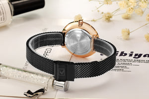 Women's Watches Women's Mesh Strap Watch Waterproof Quartz