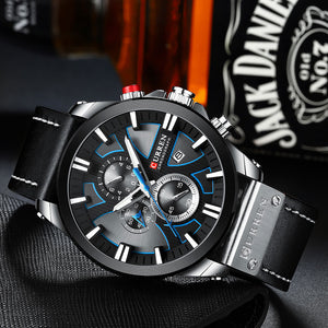 Men's Watches - Men's   Multifunctional Date Watches
