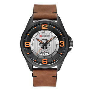 Men's Watches Leather Strap Men's Watches