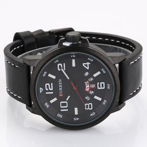 Men's watch double calendar Quartz Waterproof Watch