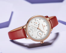 Load image into Gallery viewer, Women's Watch Waterproof Quartz Day Calendar Belt Watch