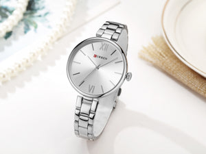 Women's Watch Steel Band Women's Watch Waterproof Quartz