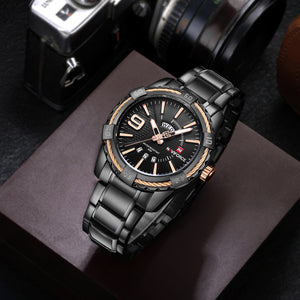 Men's Watches Multifunctional Quartz Belt Watch