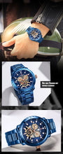 Load image into Gallery viewer, Steel Band Men's Watch Waterproof Quartz Watch Men's Watch