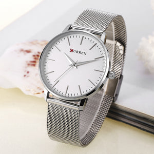 Women's Watch Waterproof Quartz Steel Band Women's Fashion Casual Watch