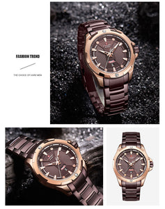 Men's Watches Waterproof Quartz