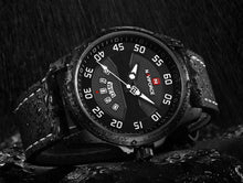 Load image into Gallery viewer, Men's Quartz Watch Waterproof Leather Date Men's Watch