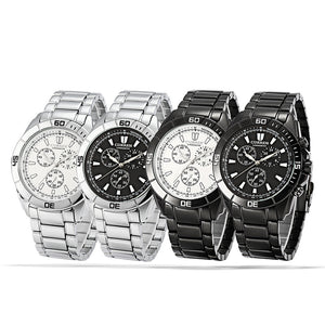 Men's Watch Waterproof Quartz Men's Steelband Men's Watch