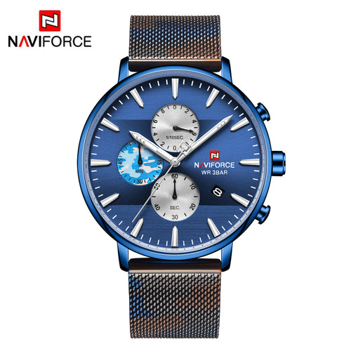 Men's Webbing Watches Camouflage Strap Men's Watches