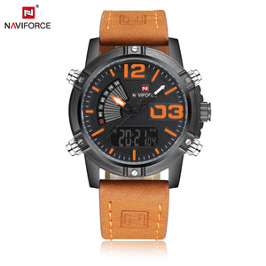 Men's Watches Double movement waterproof electronic watch