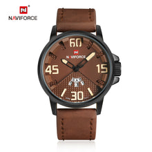 Load image into Gallery viewer, Men's Watch Men's Calendar Men's Leather Strap Quartz