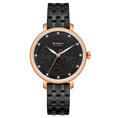 Women's Watch Steel Strap Watch Waterproof Quartz
