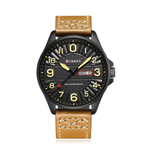 Men's Watches Men's Double Calendar Digital