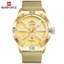 Load image into Gallery viewer, men's watches calendar men's watches steel band watches