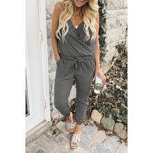 Load image into Gallery viewer, New Sling V-Neck Jumpsuit