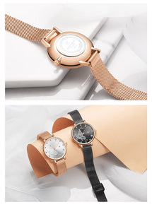 Women's Watch Waterproof Quartz Webbing
