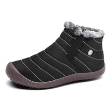 Load image into Gallery viewer, Large Size Waterproof Unisex Faux Fur Lined Slip On Boots