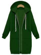 Load image into Gallery viewer, Casual Long Sleeve H-line Hoodie  Coat