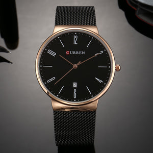 men's watches calendar men's watches waterproof quartz watches
